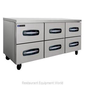 Master-Bilt MBUR72A-001 Refrigerator, Undercounter, Reach-In