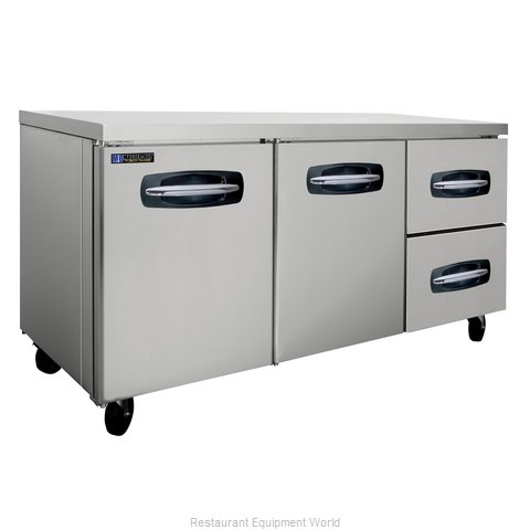 Master-Bilt MBUR72A-002 Refrigerator, Undercounter, Reach-In