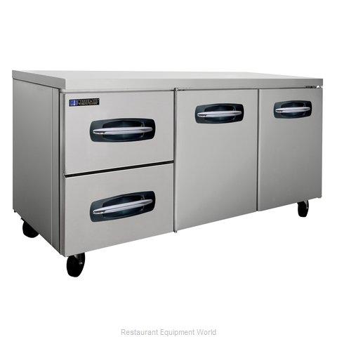 Master-Bilt MBUR72A-003 Refrigerator, Undercounter, Reach-In