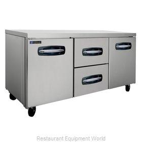 Master-Bilt MBUR72A-004 Refrigerator, Undercounter, Reach-In
