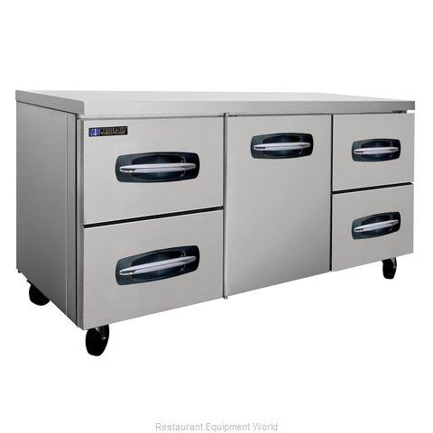 Master-Bilt MBUR72A-005 Refrigerator, Undercounter, Reach-In