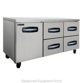 Master-Bilt MBUR72A-006 Refrigerator, Undercounter, Reach-In