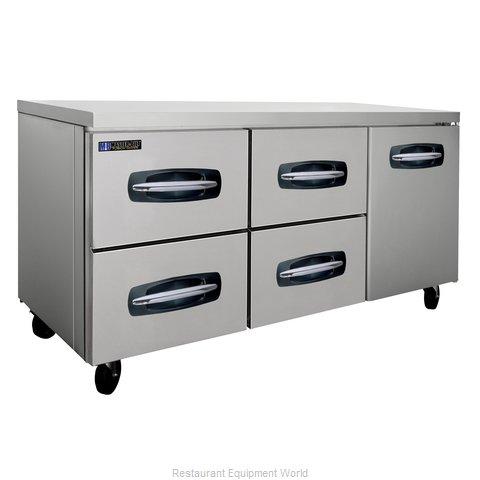 Master-Bilt MBUR72A-007 Refrigerator, Undercounter, Reach-In