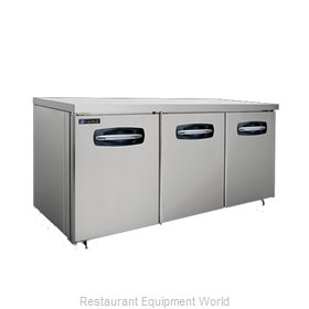 Master-Bilt MBUR72A-014 Refrigerator, Undercounter, Reach-In