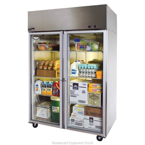 Master-Bilt MNR522SSG/0 Reach-in Refrigerator 2 sections (Magnified)