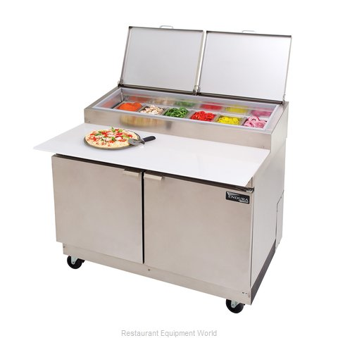 Master-Bilt MRR152SMS/0 Refrigerated Prep Table (Magnified)