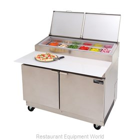 Master-Bilt MRR152SMS/0 Refrigerated Counter, Pizza Prep Table