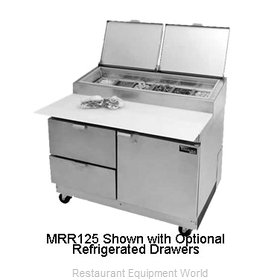 Master-Bilt MRR283SMS/0 Refrigerated Counter, Pizza Prep Table