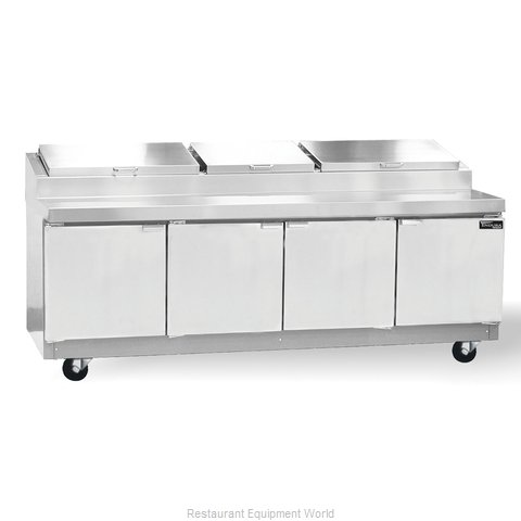 Master-Bilt MRR324SMS/0 Refrigerated Prep Table (Magnified)