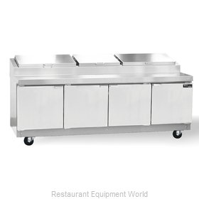 Master-Bilt MRR324SMS/0 Refrigerated Counter, Pizza Prep Table