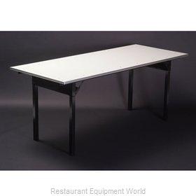 Maywood Furniture DFORIG3060 Folding Table, Rectangle