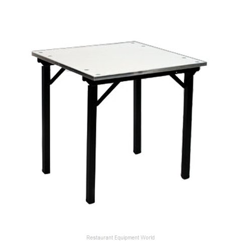 Maywood Furniture DFORIG30SQ Folding Table, Square (Magnified)