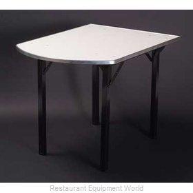 Maywood Furniture DFORIG3644PEN Folding Table, Rectangle