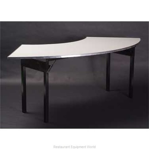 Maywood Furniture DFORIG6030CR4 Folding Tables Crescent Serpentine