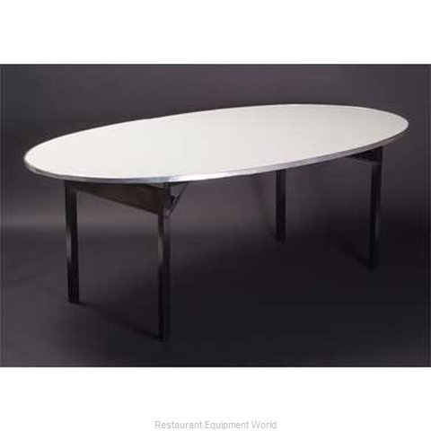 Maywood Furniture DFORIG6072OVAL Folding Table, Oval