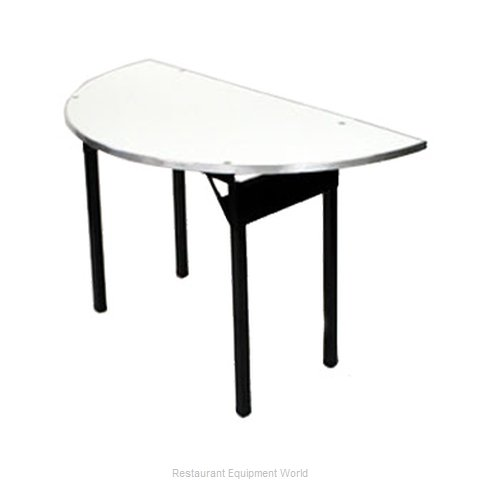 Maywood Furniture DFORIG60HR Folding Table Round