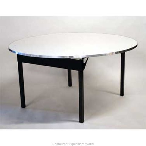 Maywood Furniture DFORIG66RD Folding Table Round