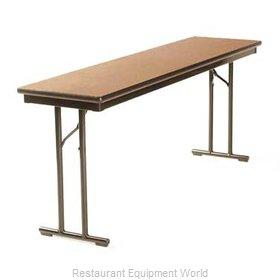 Maywood Furniture DLCALM2472 Folding Table, Rectangle