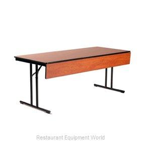 Maywood Furniture DLCALMMP2472 Folding Table, Rectangle