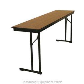 Maywood Furniture DLCLEG2496 Folding Table, Rectangle