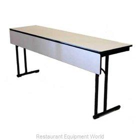 Maywood Furniture DLCLEGMP2472 Folding Table, Rectangle