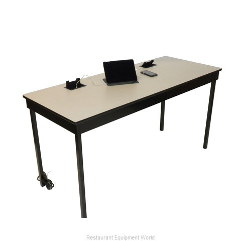 Maywood Furniture DLDEL2472CH30H Table, Indoor, Activity