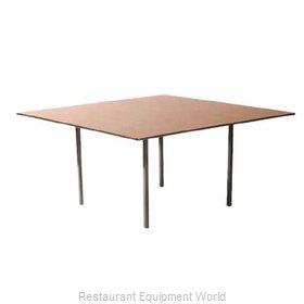 Maywood Furniture DLDEL54SQ Folding Table, Square