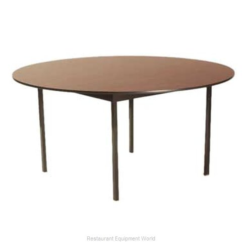 Maywood Furniture DLDEL60RD Folding Table, Round