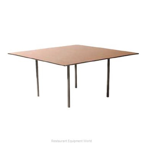Maywood Furniture DLDEL60SQ Folding Table Square (Magnified)