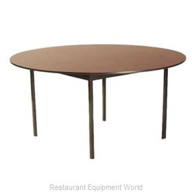 Maywood Furniture DLDEL72RD Folding Table, Round