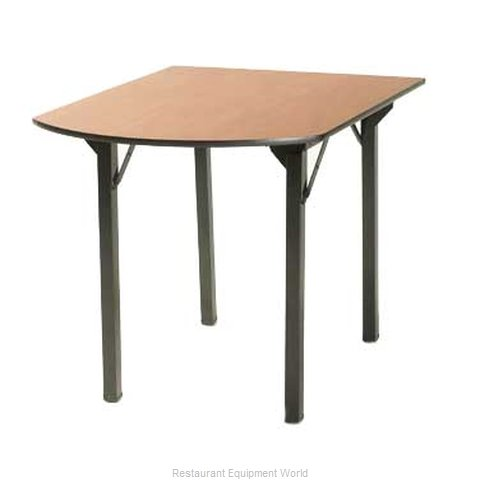 Maywood Furniture DLORIG3040PEN Folding Table, Rectangle