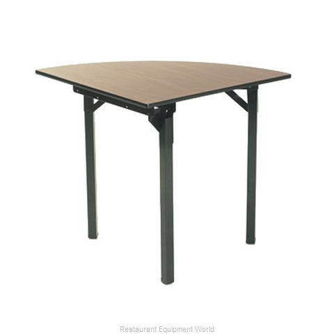 Maywood Furniture DLORIG36QR Folding Table, Round
