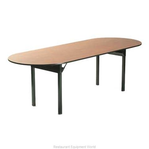 Maywood Furniture DLORIG4884RACE Folding Table Oval