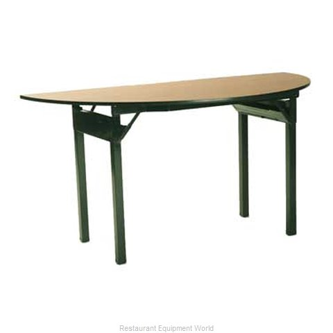 Maywood Furniture DLORIG48HR Folding Table, Round