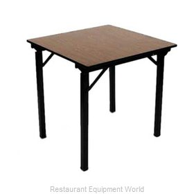 Maywood Furniture DLORIG66SQ Folding Table, Square