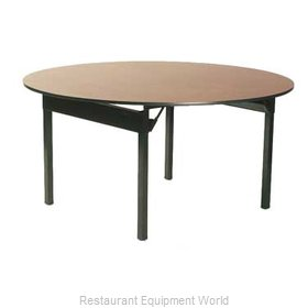 Maywood Furniture DLORIG72RD Folding Table, Round