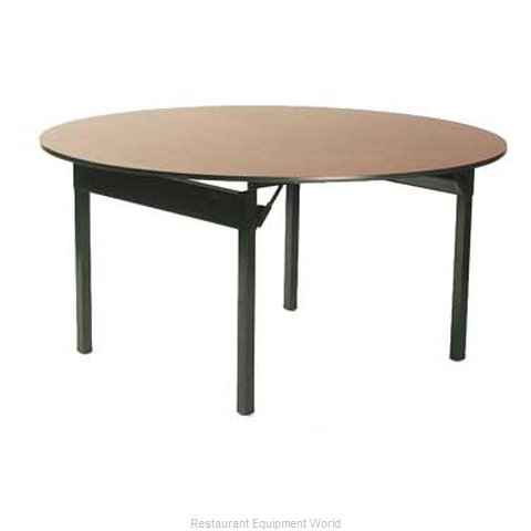 Maywood Furniture DLORIG84RD Folding Table Round