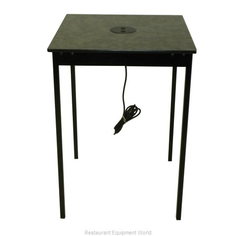 Maywood Furniture DLSTAT30SQCH30H Table, Indoor, Activity