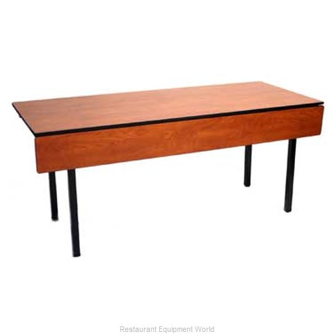 Maywood Furniture DLTRAIN3060 Folding Table, Rectangle