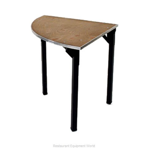 Maywood Furniture DPORIG30QR Folding Table Round