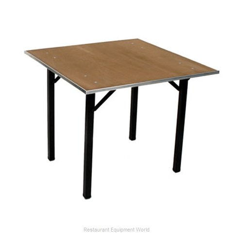Maywood Furniture DPORIG36SQ Folding Table Square