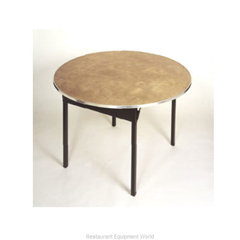 Maywood Furniture DPORIG42RD Folding Table Round