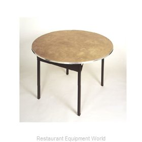 Maywood Furniture DPORIG42RD Folding Table, Round