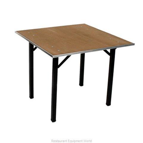Maywood Furniture DPORIG42SQ Folding Table, Square