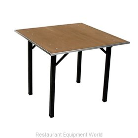 Maywood Furniture DPORIG48SQ Folding Table, Square