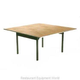 Maywood Furniture DPORIG54SQ Folding Table, Square