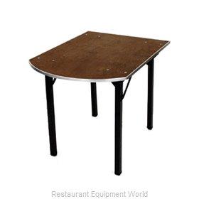 Maywood Furniture DPORIG6034PEN Folding Table, Rectangle