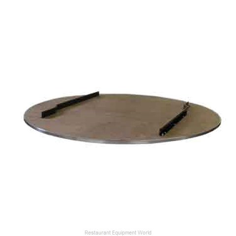 Maywood Furniture DPORIG66RDTO Table Top, Wood (Magnified)
