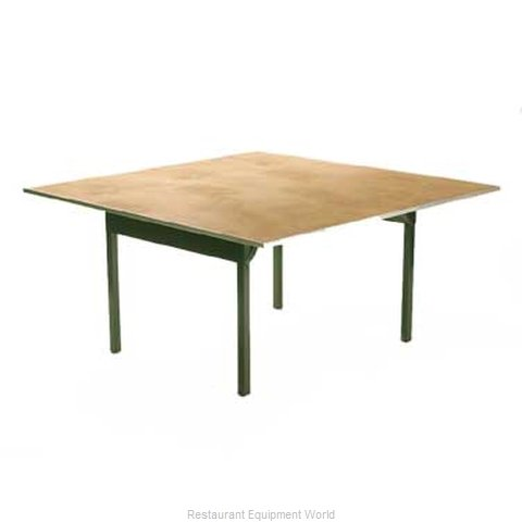 Maywood Furniture DPORIG66SQ Folding Table Square