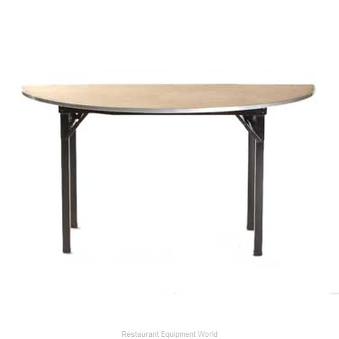 Maywood Furniture DPORIG96HR Folding Table Round